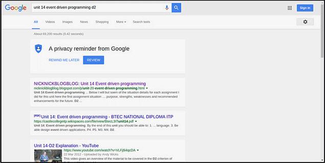 طراحی جدید گوگل برای جستجوگر دسکتاپ