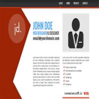 سورس پروژه طراح سایت شخصی با html