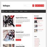 قالب مجله ای Wellington وردپرس