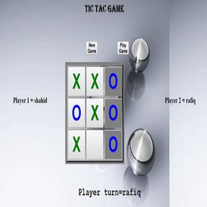 سورس پروژه بازی Tic Tac Toe با جاوا اسکریپت